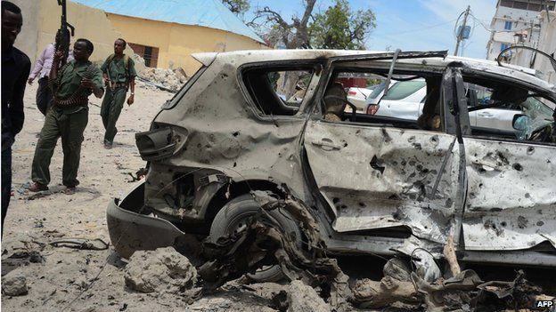 Car bombs have become a common sight in the streets of Mogadishu