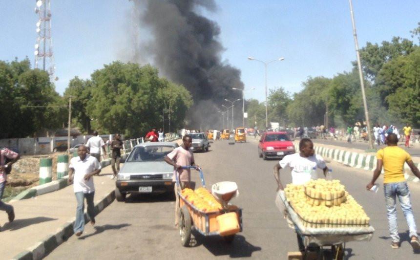 FILE PHOTO: Bombing in Maiduguri