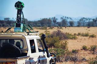 Google Brings Street View to Africa's Savanna