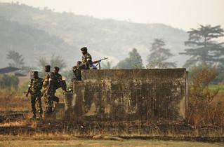 Burundi troops battle gunmen in southwest