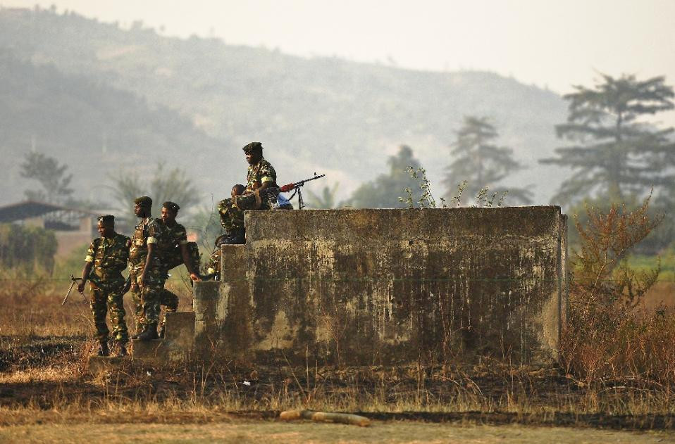 Troops in Burundi battled a nearly 100-strong force of fighters, a local governor said, amid fears that violence is spreading in the troubled nation (AFP Photo/Carl de Souza)