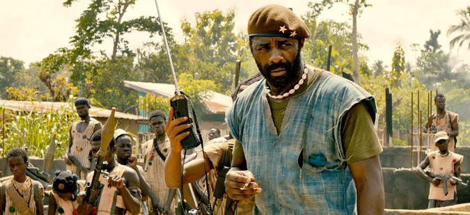 "Idris Elba in ""Beasts of No Nation."" Credit Netfilx Original Film"