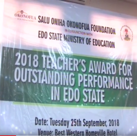 Okonofua Foundation Award for Outstanding Teachers