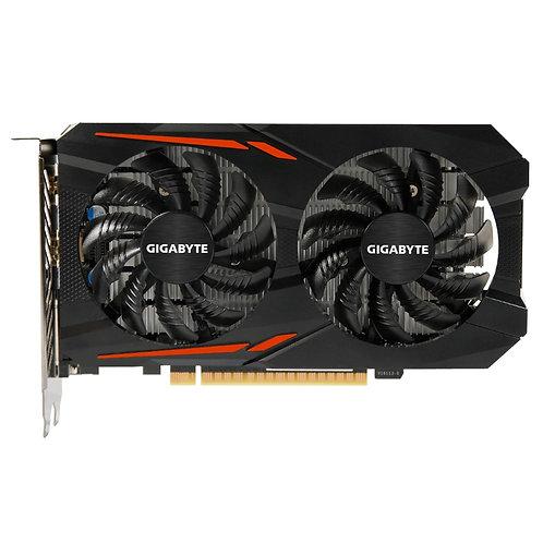 Gigabyte GeForce GTX 1050 TI OC 4GB GDDR5 WINDFORCE 2X Cooling System Graphics C