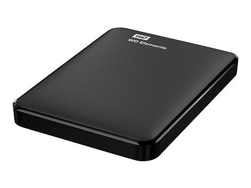 WD Elements Portable WDBUZG0010BBK - hard drive - 1 TB - USB 3.0