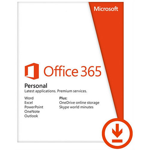 Microsoft Office 365 Personal- Electronic Download, ESD DELIVERY MAY TAKE UP TO