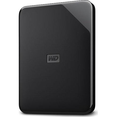 WD Elements SE Portable Hard Drive - 2 TB, Black