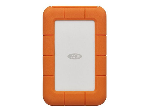LaCie Rugged USB-C - hard drive - 1 TB - USB 3.1 Gen 1