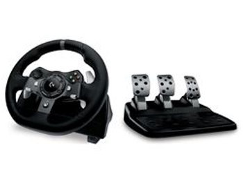 LOGITECH Driving Force G920 Xbox & PC Racing Wheel & Pedals - Black