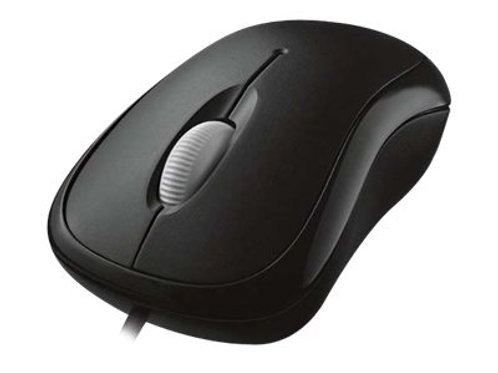 Microsoft Basic Optical Mouse - Usb -black
