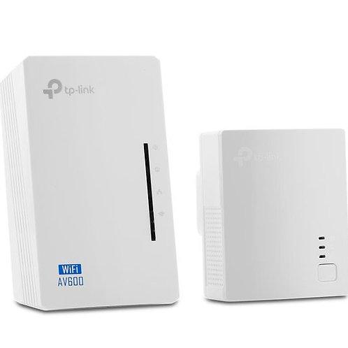 TP-LINK WPA4220 WiFi Powerline Adapter Kit - AV600, Twin Pack