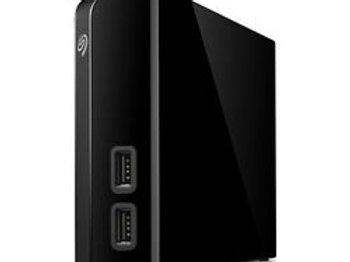 SEAGATE Backup Plus External Hard Drive - 8 TB, Black