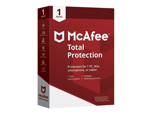 McAfee Total Protection - subscription licence (1 year) - 1 device