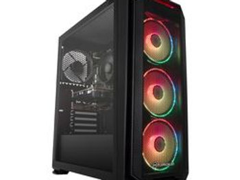 PC SPECIALIST Tornado R3 Gaming PC - AMD Ryzen 3, GTX 1650, 1 TB HDD & 256 GB SS