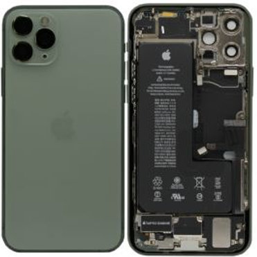For iPhone 11 Pro - Replacement Complete Rear Housing Cover With Parts And Batte