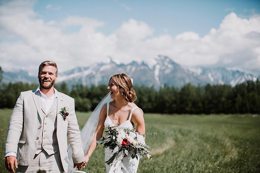 Plan your Alaska destination wedding with La Boum Events!   Photo by Relic Photographic