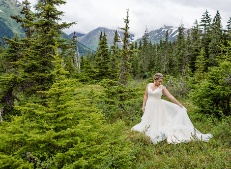 The Sunshine State in The Last Frontier - an Alaska Elopement