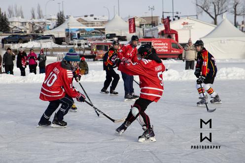 Western Canada Pond Hockey Tournament