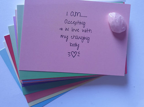 Pregnancy & Birth Affirmation Cards