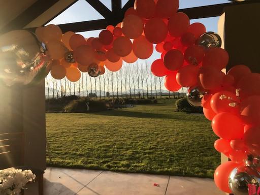 Birthday Baloon Arch