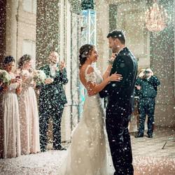 Wedding Indoor Snow Special Effect