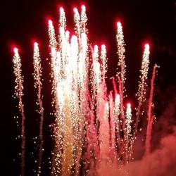 Wedding Close Proximity Fireworks