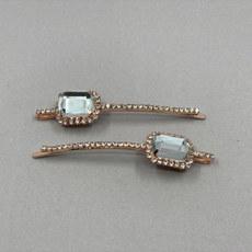 Ingrid Rhinestone Bridal Hair Pins