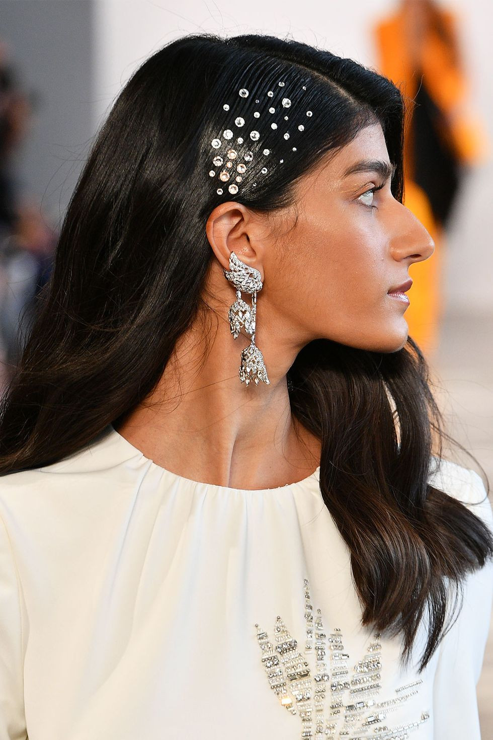 Bibhu Mohapatras Spring Summer 2020 runway collection - Hair Jewels - Hair Blog Australia