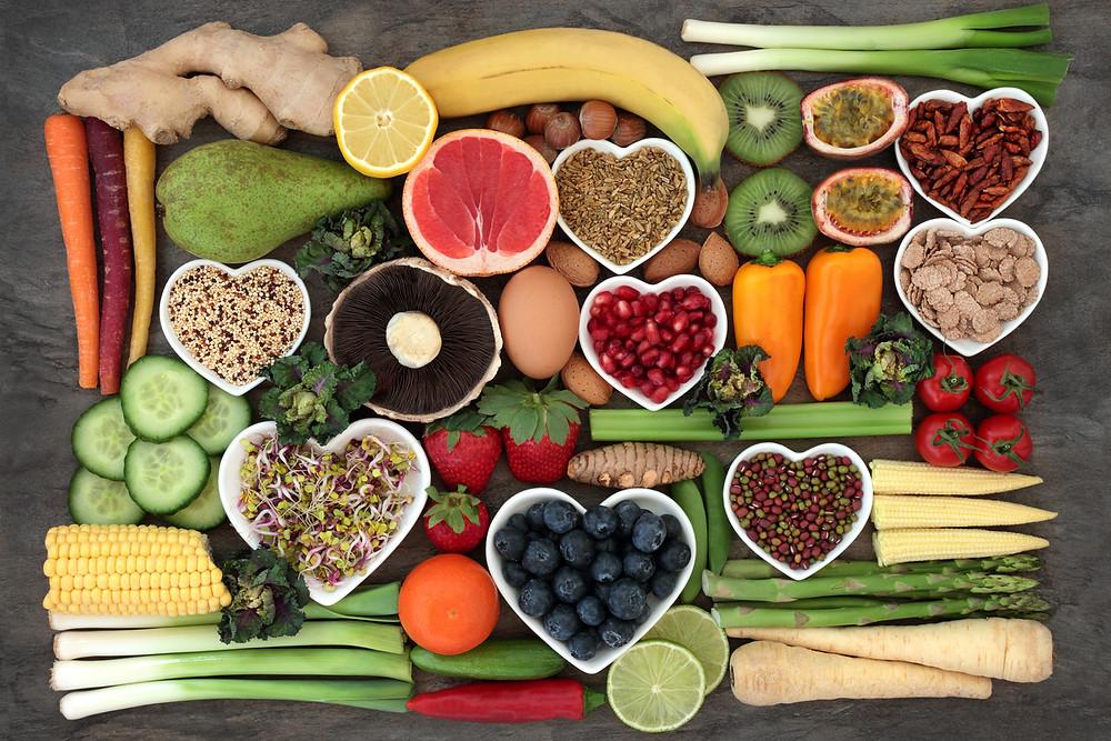 Eat a balanced diet to nourish Hair