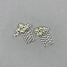 Sena Pearl Bridal Hair Comb Set