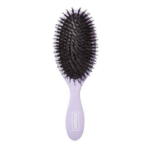 BRIOGEO Boar Bristle Hair Brush - detangles straight - wavy - curly - or coiled hair - Hair Health Blog