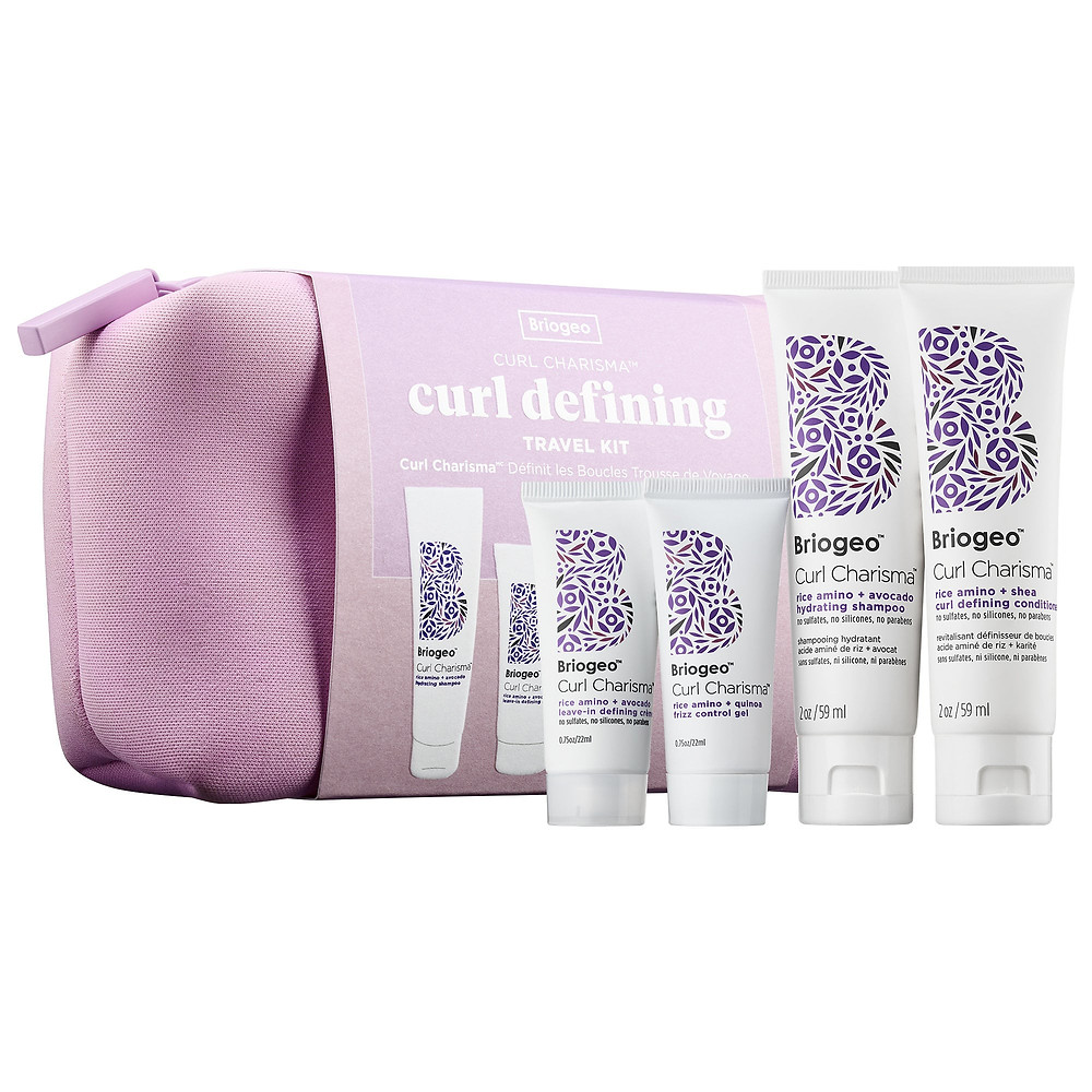 BRIOGEO Curl Charisma Definition On-The-Go Travel Kit