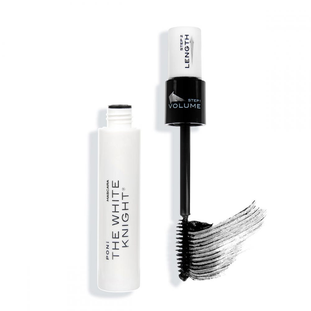PONI COSMETICS WHITE KNIGHT TUBULAR MASCARA