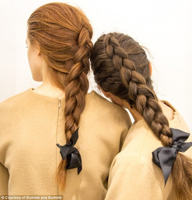 Bumble and Bumble Hair French Braids - Hairstyle Inspiration Blog Australia