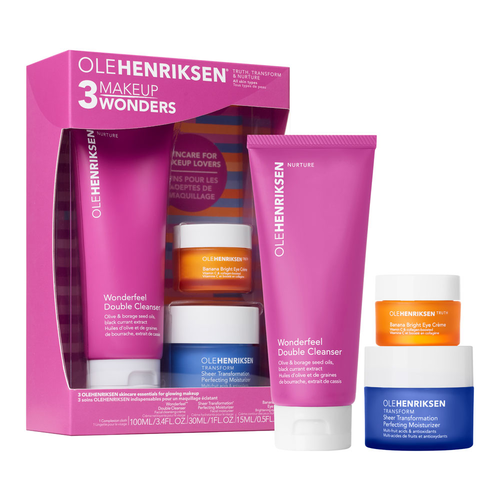 Ole Henriksen Wonderfeel Double Cleanser and Banana Bright Eye Creme - Beautiful Hair - BEAU MANE