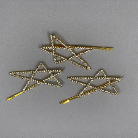 Aurora Star Bridal Hair Pins