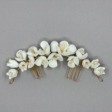 Bella Flower Bridal Hair Comb