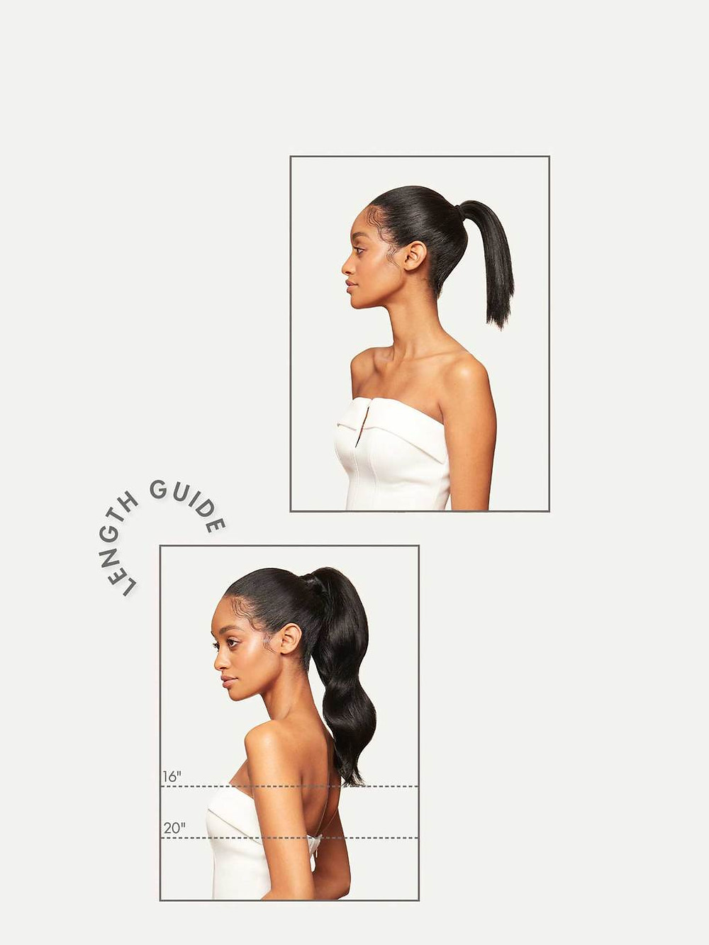 Luxy Hair - Ponytail Hair Extension - Bridal Hair - Wedding Hairstylist
