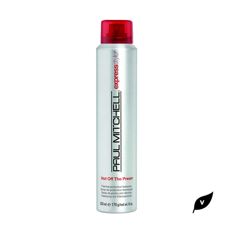 Paul Mitchell Heat Protectant Hair Spray Hot Off The Press