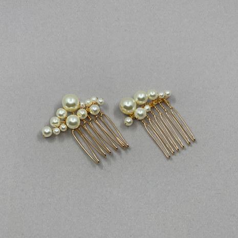 Alina Pearl Bridal Hair Comb Set