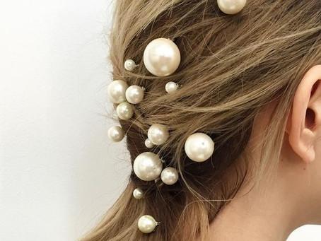 Pearl Hair Pin Hairstyles