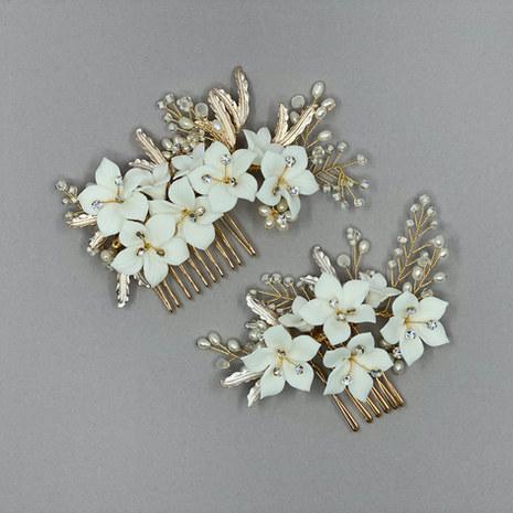 Blossom Bridal Hair Comb Set