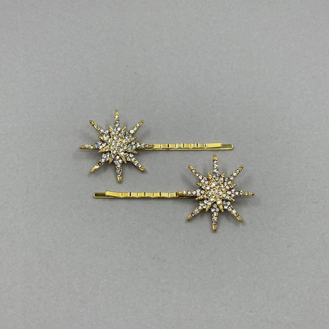 Aria Star Wedding Hair Pin Set