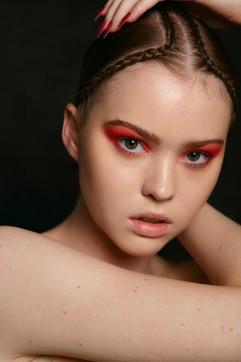 Photographer: Carlo Fernandes Makeup: Caprice Cameron Jane Makeup Design Hair: Jodie Day Model: Jessica