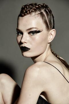 Publication: Laud Magazine  Photographer: Carlo Fernandes Hairstylist: Jodie Day Stylist: Lauren Jones  Makeup: : Ashlee Winfield Cameron Jane Makeup Design  Model: Kea @ Priscillas ModelManagement
