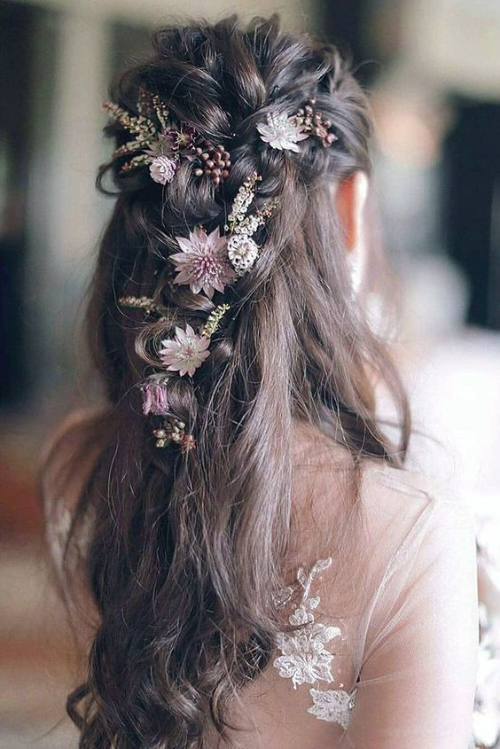 Wedding Hair Flowers - Bridal hairstyles with Flowers