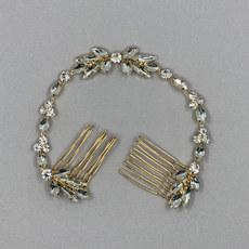 Luna Crystal Bridal Hair Piece