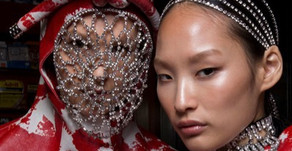 Jewelled Headpieces on the Runway