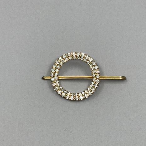 April Crystal Bridal Hair Pin