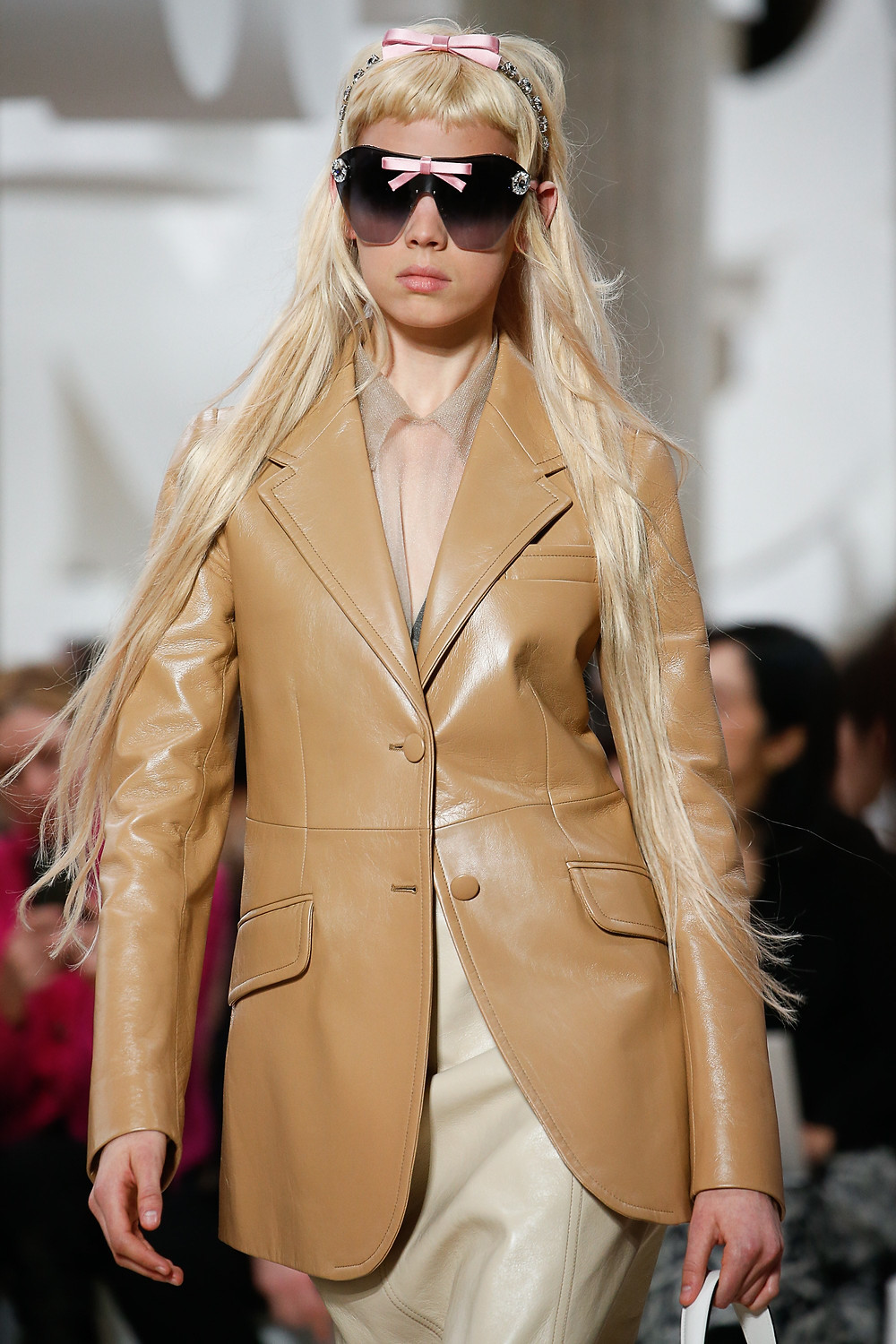 Miu Miu Spring 2019 Ready To Wear Extreme Long Hair - Hair Blog Australia